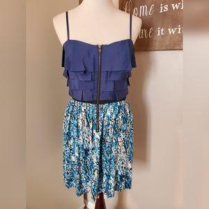 Blue Elle Strap Dress